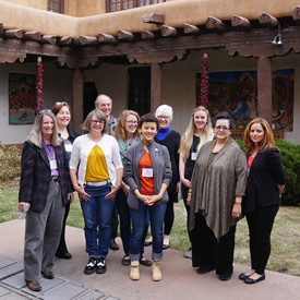 New Mexico Arts Staff and Poetry Out Loud Volunteers