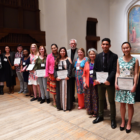 2017 New Mexico Poetry Out Loud Participants and judges