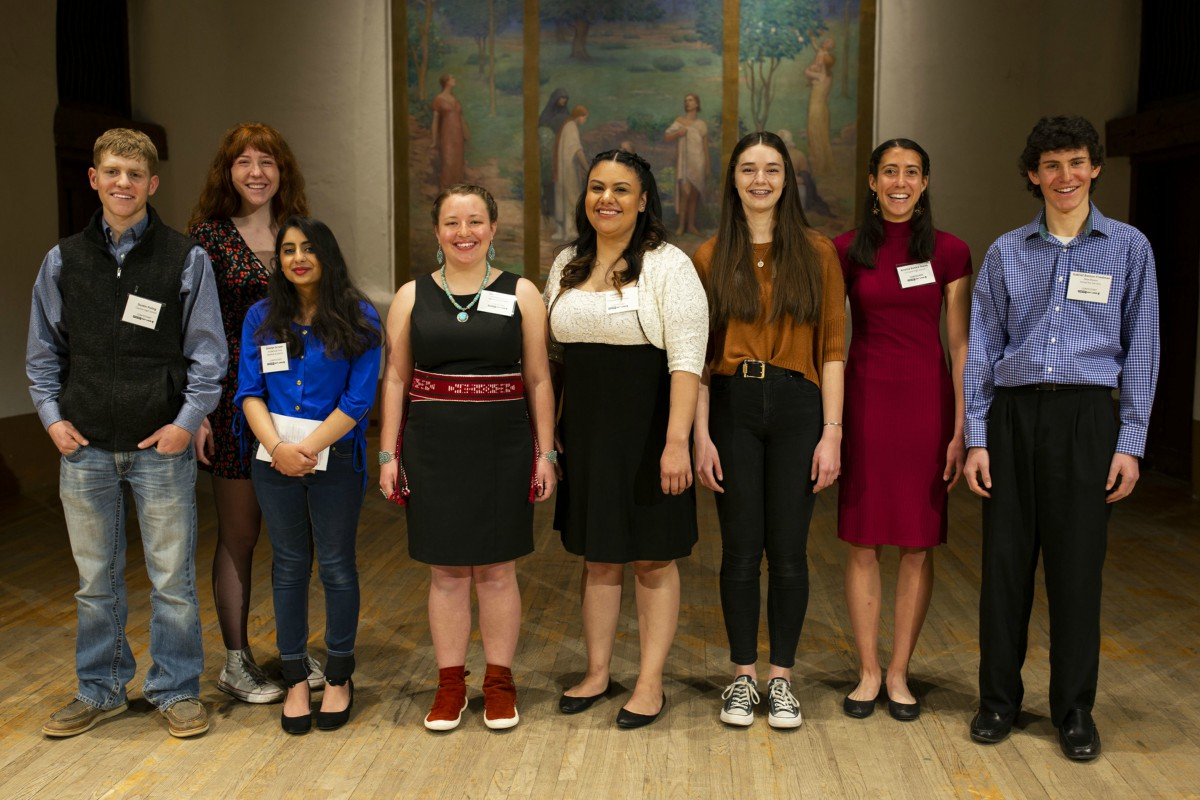 2020 Poetry Out Loud Competitors