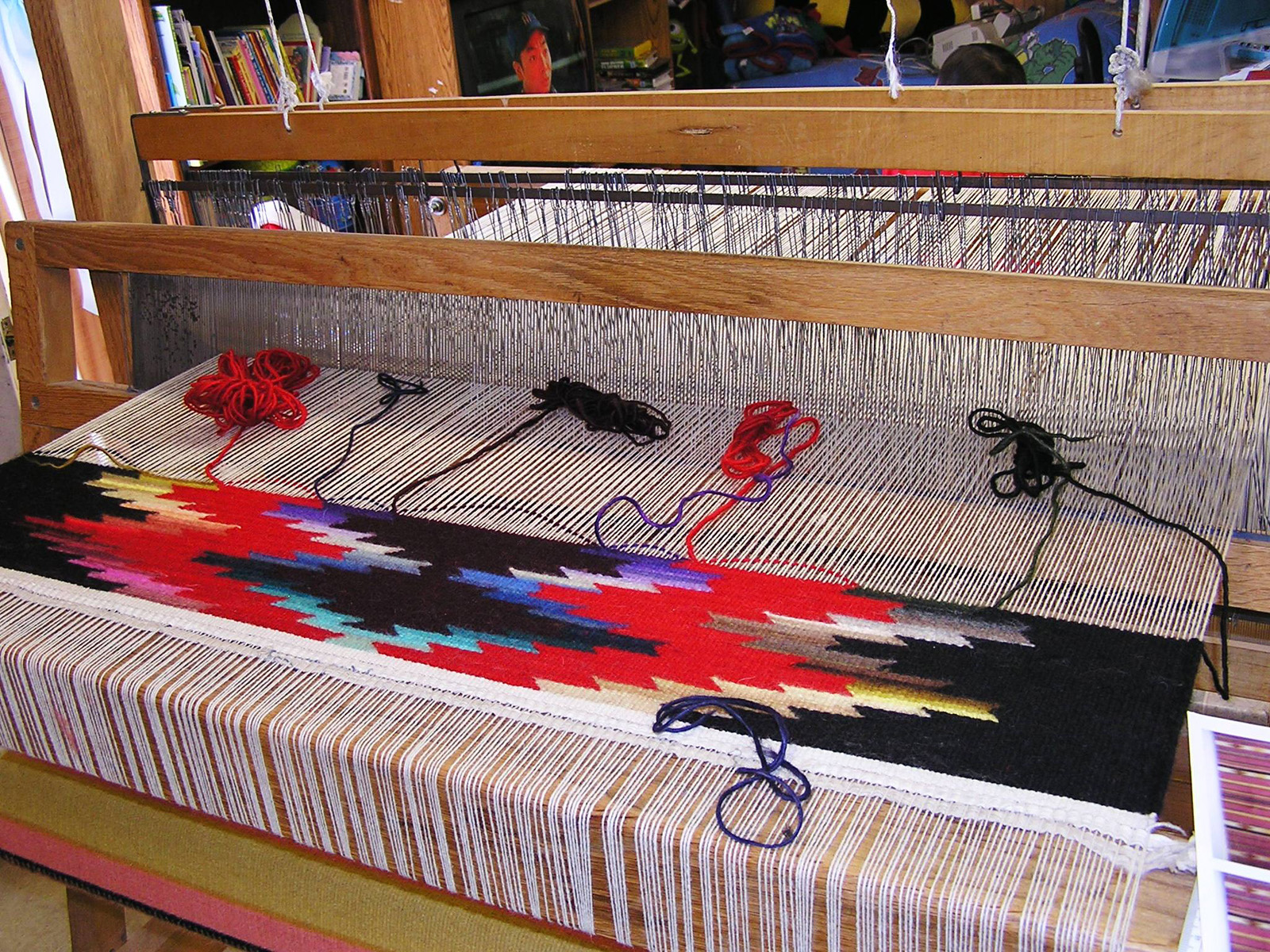 New Mexico Fiber Arts Tapestry